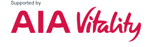 Supported by AIA Vitality